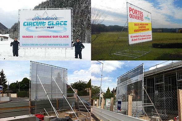 panneaux chantiers