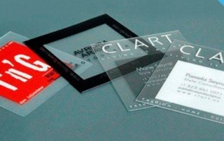 Top 50 - Cartes de visite transparentes !