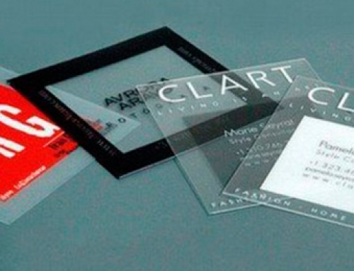 Top 50 : Cartes de visite transparentes !