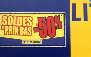 Banderoles et bannières publicitaires.