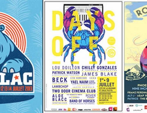 Top 20 : Affiches publicitaires de Festivals français !
