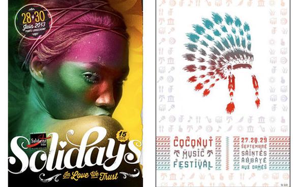 affiche publicitaire festival