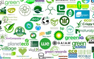 blog marketing : selection logos green