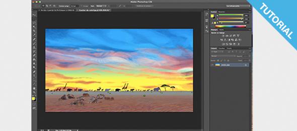 Tutoriaux pao gratuit : Ouvrir une image sous photoshop en 3 étapes !