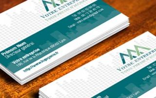 Logogénie - Création de cartes de visite