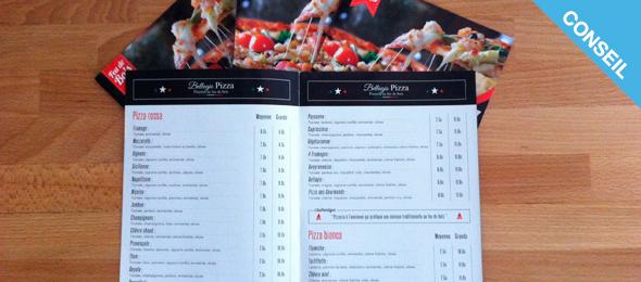 10 astuces pour creer une carte de menu de restaurant