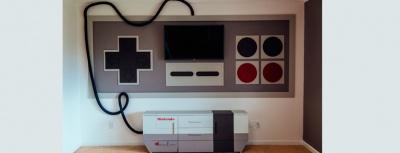 DIY - Chambre nintendo réalisée par Rorie Lizenby