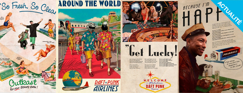 inspiration affiches vintage