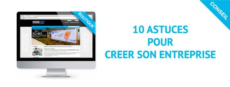 Créer son entreprise en 10 étapes