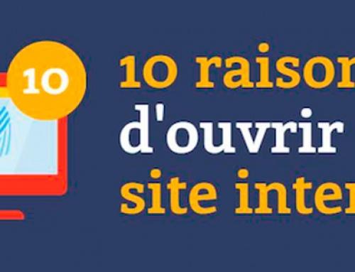 ASTUCE : 10 raisons d'ouvrir un site internet !