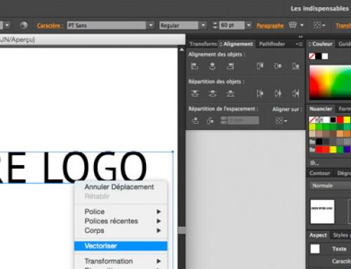 TUTO : Comment vectoriser un texte sous Illustrator