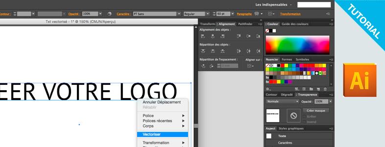 Tuto Vectoriser Un Texte Sous Illustrator En 3 étapes