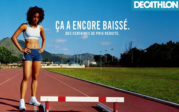 inspiration publicité décathlon
