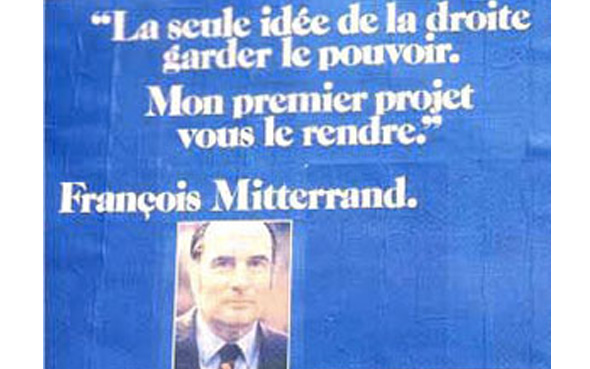 analyse des affiches présidentielles de 1974