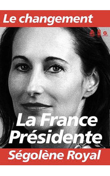 analyse des affiches presidentielles de 2007