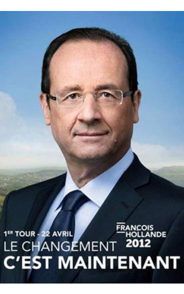 analyse des affiches presidentielles de 2012