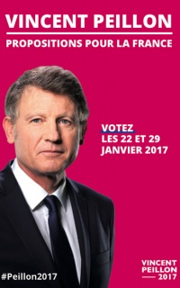 Affiches électorales de la primaire de la gauche