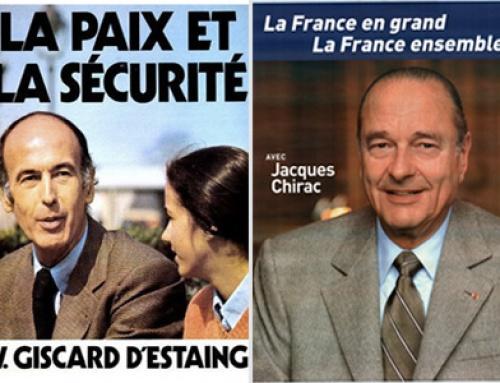L' analyse des affiches présidentielles de la Ve république !
