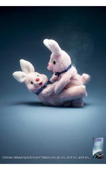 affiches publicitaires saint valentin durex