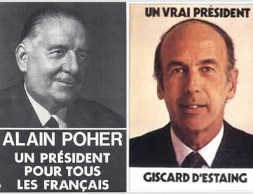 INSPIRATION : Les affiches présidentielles de la Ve république