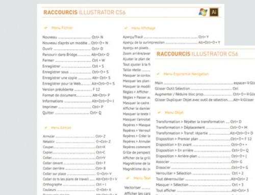 ASTUCE : Tous les raccourcis clavier Illustrator pour PC !