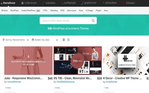 Thèmes Themeforest pour créer un blog wordpress