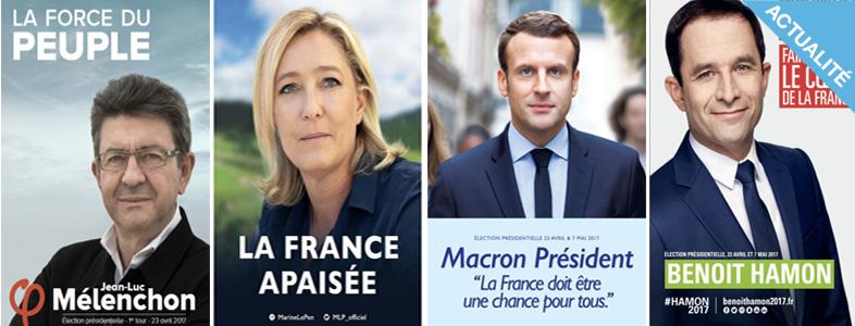 Affiche présidentielle 2017