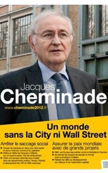 L'affiche présidentielle 2012 de Jacques Cheminade