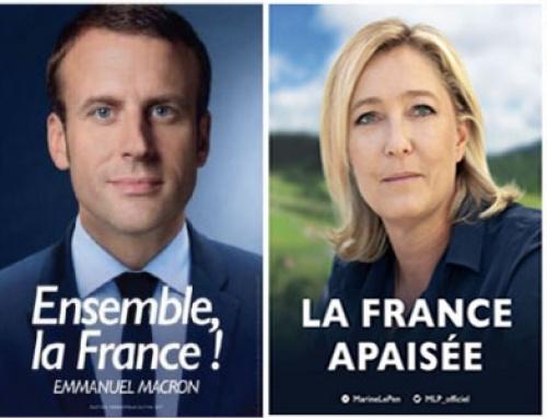 ACTU : L'analyse des affiches des finalistes à la présidentielle 2017 !