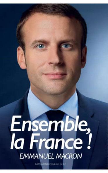 présidentielle 2017- affiches des finalistes
