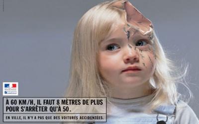 inspiration affiches publicitaires securité routière