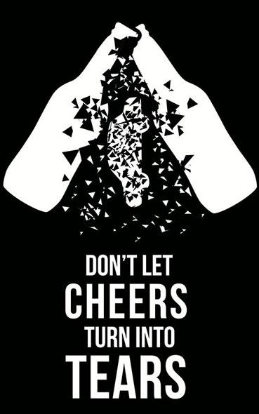 inspiration affiches publicitaires sur les dangers de la route