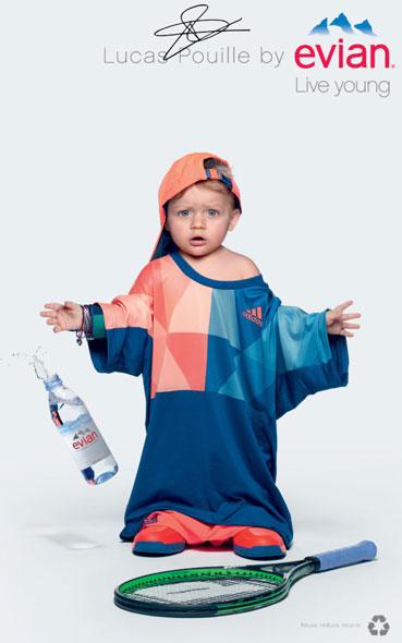 Inspiration affiches publicitaires - Evian