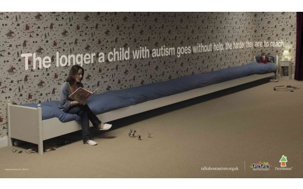 inspiration affiches publicitaires choc