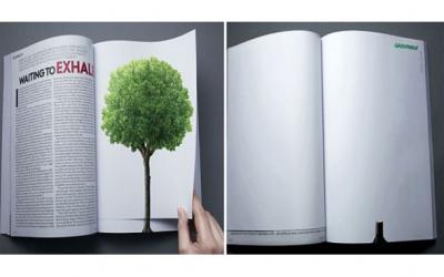 Les affiches publicitaires engagées à s'inspirer