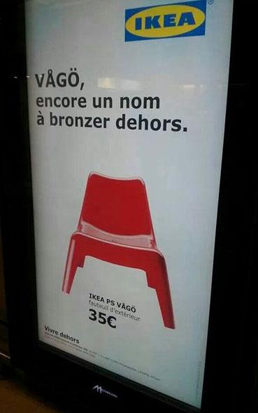 affiches publicitaires à s'inspirer