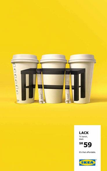 top 30 des affiches publicitaires ikea pour pr parer sa. Black Bedroom Furniture Sets. Home Design Ideas