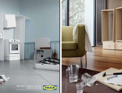 INSPIRATION : Les affiches publicitaires ikea pour bien préparer votre rentrée!