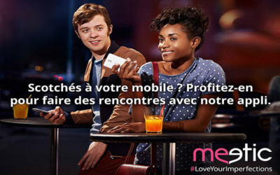 Pub Meetic - # Love your imperfections