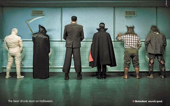 inspiration affiches pub pour halloween