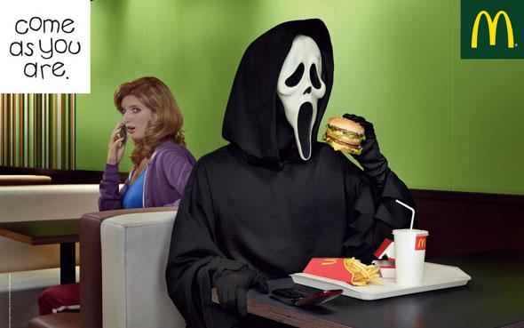 inspiration affiches publicitaires halloween