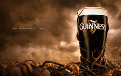 inspiration affiches publicitaires halloween