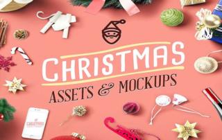 TELECHARGEMENT : Assets & Mockups de Noël pour personnaliser votre com' !