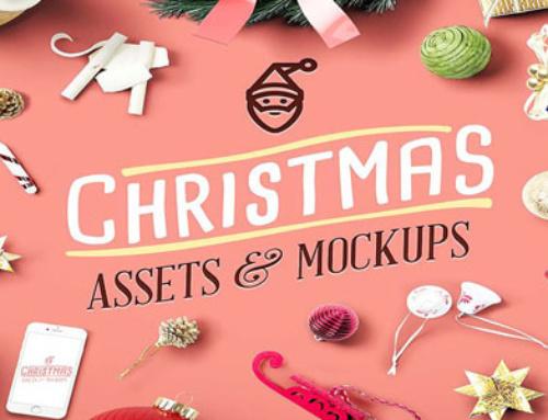 TELECHARGEMENT : Assets et Mockups de Noël pour personnaliser votre com' !