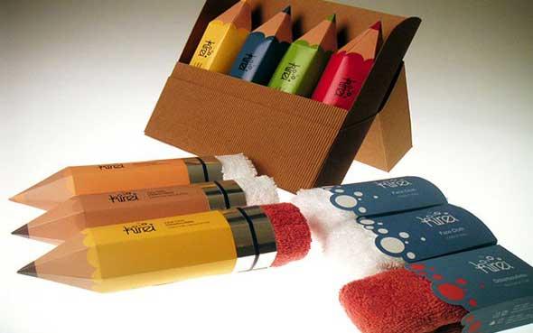 Packagings originaux produits