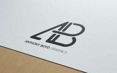 10 mockups de logos gratuits à télécharger - Mockup sur papier