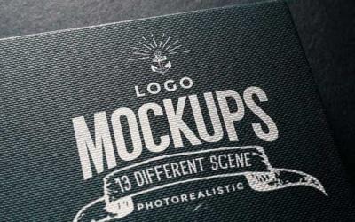 10 mockups de logos gratuits à télécharger - Logo sur tissu