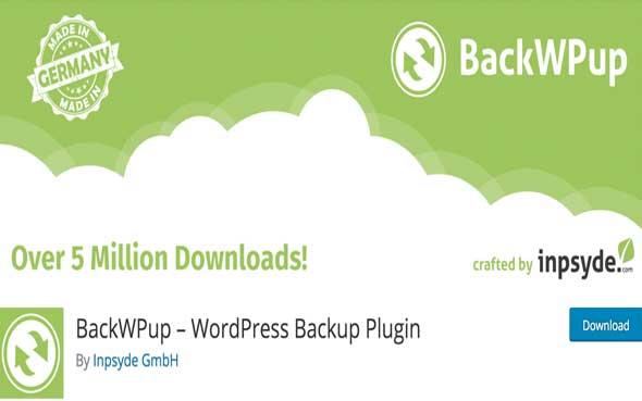 5 étapes pour sauvegarder son blog d'entreprise - Plugin WordPress gratuit pour sauvegarder son blog - Backwpup