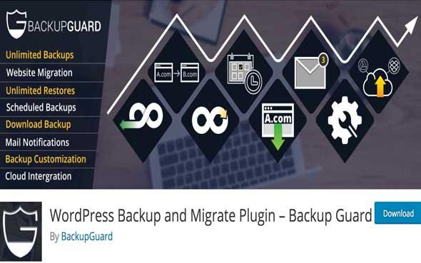 5 étapes pour sauvegarder son blog d'entreprise - Plugin WordPress gratuit pour sauvegarder son blog - BackupGuard