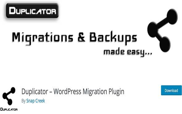 5 étapes pour sauvegarder son blog d'entreprise - Plugin WordPress gratuit pour sauvegarder son blog - Duplicator